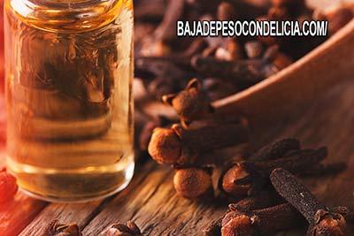 El aceite de Clavo de Olor es ideal para prevenir infecciones.