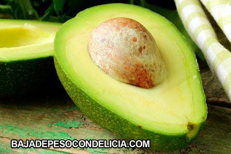 Frutas para adelgazar semilla de aguacate