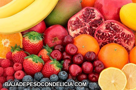 Frutas para adelgazar granadas