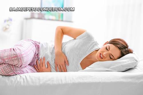 Síndrome premenstrual (PMS) por acumulación de toxinas en el hígado