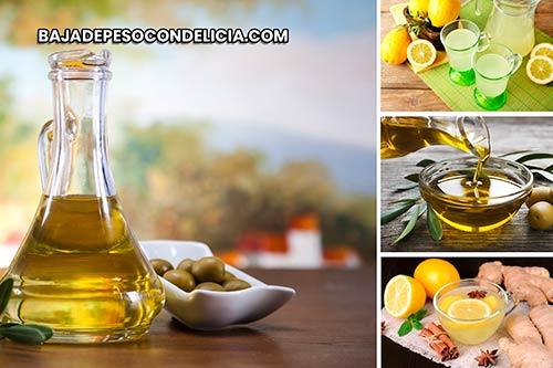 El consumo regular de aceite de oliva ayuda a eliminar las toxinas dañinas del cuerpo y también a limpiar el hígado, la vesícula biliar y los riñones.